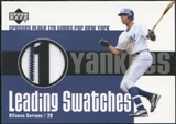 2003 Upper Deck Leading Swatches #AS1 Jersey Alfonso Soriano RUN