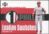 2003 Upper Deck Leading Swatches Jersey #BA Bobby Abreu 2B