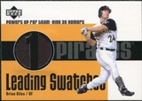 2003 Upper Deck Leading Swatches Jersey #BG Brian Giles HR