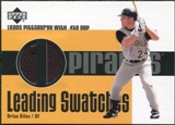 2003 Upper Deck Leading Swatches Jersey #BG1 Brian Giles OBP