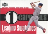 2003 Upper Deck Leading Swatches #JD J.D. Drew RBI Jersey