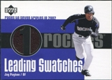 2003 Upper Deck Leading Swatches Jersey #JP Jay Payton 3B
