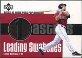 2003 Upper Deck Leading Swatches Jersey #LB Lance Berkman HR