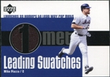 2003 Upper Deck Leading Swatches #MP Mike Piazza HR Jersey