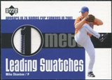2003 Upper Deck Leading Swatches Jersey #MS Mike Stanton GM
