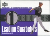 2003 Upper Deck Leading Swatches Jersey #RJ1 Randy Johnson ERA