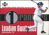 2003 Upper Deck Leading Swatches Jersey #RP1 Rafael Palmeiro 2B