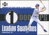 2003 Upper Deck Leading Swatches Jersey #SG1 Shawn Green TB