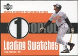 2003 Upper Deck Leading Swatches Jersey #TB Tony Batista HR