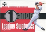 2003 Upper Deck Leading Swatches Jersey #TG Troy Glaus HR