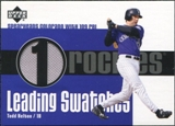 2003 Upper Deck Leading Swatches Jersey #THE Todd Helton RBI