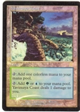 Magic the Gathering Apocalypse Single Yavimaya Coast Foil