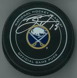 Jack Eichel Autographed Buffalo Sabres Official Game Hockey Puck