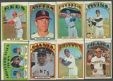 1972 Topps Baseball Partial Set (EX-MT)