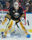 Robin Lehner Autographed Buffalo Sabres 8x10 Hockey Photo