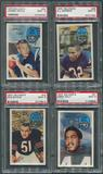1970 Kellogg's Football Complete PSA 9 Graded Set