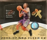 2006/07 Fleer E-X Basketball Hobby Box