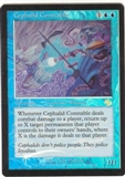Magic the Gathering Judgment Single Cephalid Constable Foil