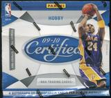 2009/10 Panini Certified Basketball Hobby Box (EX-MT BOX, MINT PACKS)