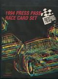 1994 Press Pass Racing Complete Set W/ Binder and Insert Sets