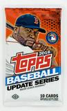 2016 Topps Update Baseball Hobby Pack