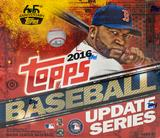 2016 Topps Update Baseball Hobby Jumbo Box