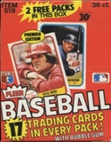 1981 Fleer Baseball Wax Box