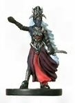 Dungeons & Dragons Mini Underdark Drow Arachnomancer Figure