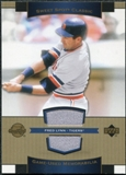 2003 Upper Deck Sweet Spot Classics Game Jersey #FL Fred Lynn