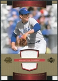 2003 Upper Deck Sweet Spot Classics Game Jersey #NR Nolan Ryan