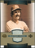 2003 Upper Deck Sweet Spot Classics Game Jersey #RF Rollie Fingers