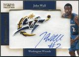 2010/11 Playoff National Treasures #2 John Wall Rookie Patch NBA Team Auto #21/25