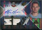 2008/09 SPx #115 Kevin Love Radiance Rookie Patch Auto #16/25