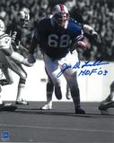Joe DeLamielleure Autographed Buffalo Bills 8x10 Spotlight Photo