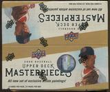 2008 Upper Deck Masterpieces Baseball Retail 24-Pack Box