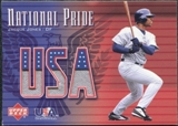 2003 Upper Deck National Pride Memorabilia #JJ J.Jones White Jersey