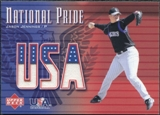 2003 Upper Deck National Pride Memorabilia #JJE Jason Jennings Jersey