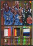2014/15 Panini Gold Standard #7 Kevin Durant Russell Westbrook Serge Ibaka Patch #21/25