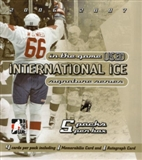 2006/07 ITG International Ice Signature Series Hockey Hobby Box