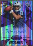 2015 Certified #CSMM Marcus Mariota Signatures Mirror Purple Rookie Auto #5/8
