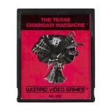 Atari 2600 The Texas Chainsaw Massacre Loose Cart