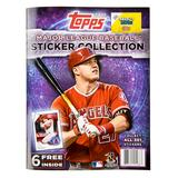 2017 Topps Baseball MLB Sticker Collection Album (PLUS 6 FREE Stickers!)