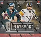 2016 Panini Playbook Football Hobby Box (PLUS 2 Panini NFL Kickoff Packs!)