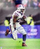 LeSean McCoy Autographed Buffalo Bills White Jersey 16x20 Photo