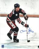 Dave Christian Autographed USA 8x10 Photo Miracle on Ice