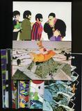 The Beatles: Yellow Submarine Large Format Collector Cards Complete 72-Card Set (Lot of 10) (Comic Images 1999