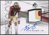 2014 SP Authentic #202 Kelvin Benjamin Rookie Patch Auto #065/550