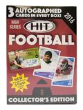 2016 Sage Hit High Series Football Blaster Box
