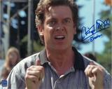 Christopher McDonald Autographed Point 8x10 Shooter McGavin Photo