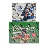 COMBO DEAL - 2016 Panini Football Prime Signatures and Classics Hobby Boxes